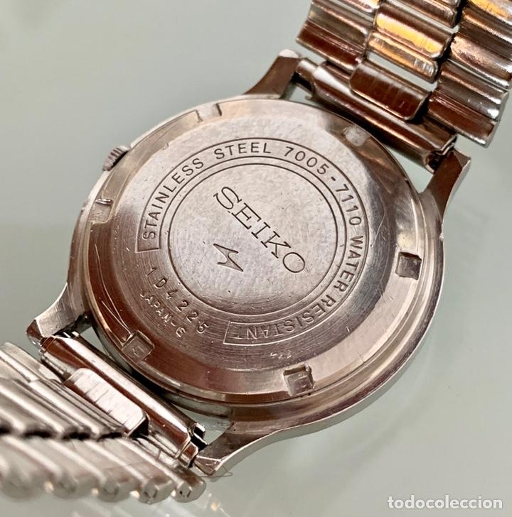 Vintage: Reloj seiko Automático 7005-7110 vintage - Foto 6 - 176266912