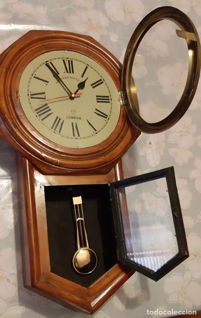Vintage: RELOJ DE PARED A PILAS, WEST END WATCH - Foto 2 - 177846033