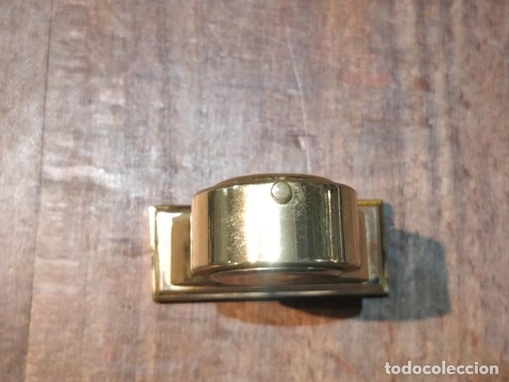 Vintage: Reloj en miniatura dorado, quartz - Japan movt - Shock proof - stainless steel - 5 x 5cm - Foto 9 - 177865052