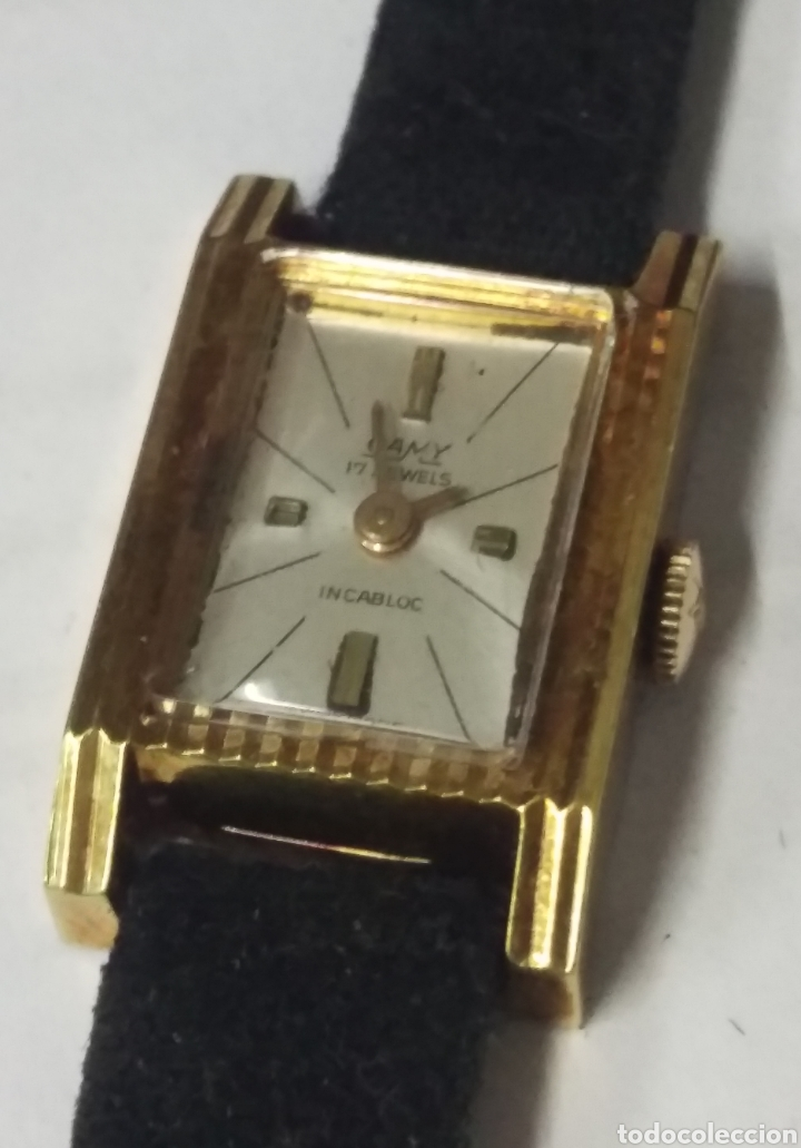 RELOJ A CUERDA SEÑORA CAMY 17J INCABLOC SWISS MADE (Relojes - Relojes Vintage )