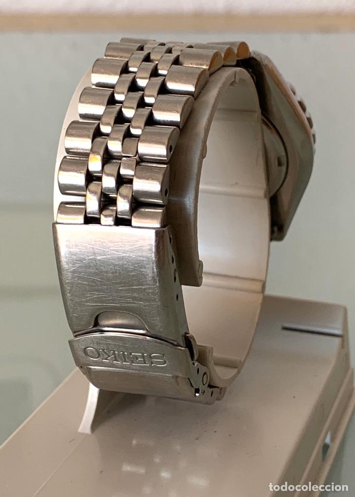 Vintage: Reloj seiko Kinetic Sport 150 mod 5M23-6B50 año 94 vintage - Foto 7 - 178946528