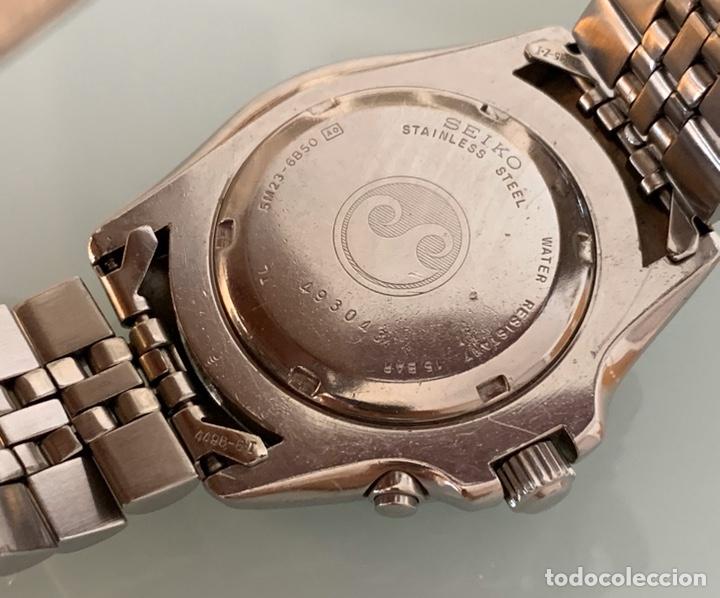 Vintage: Reloj seiko Kinetic Sport 150 mod 5M23-6B50 año 94 vintage - Foto 8 - 178946528