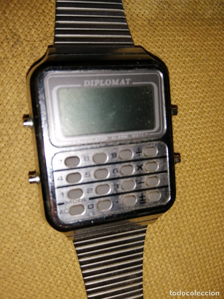 RELOJ DIPLOMAT CALCURADORA SIN COMPROBAR (Relojes - Relojes Vintage )
