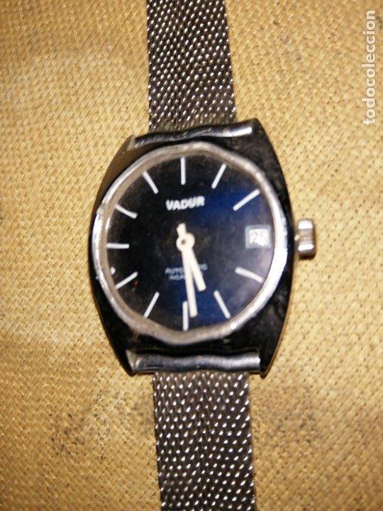 RELOJ VADUR SIN CRISTAL Y SIN COMPROBAR (Relojes - Relojes Vintage )