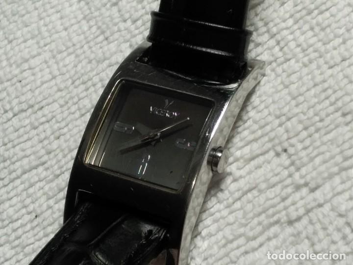 Vintage: Reloj ( VICEROY 43520.DAVID BISBAL. edición especial WATER RESISTANT 30 Meters) funcionando. - Foto 2 - 180438475