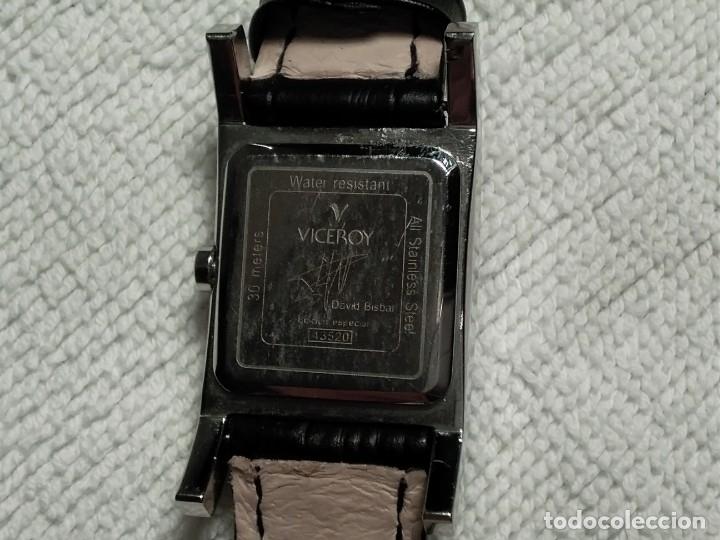 Vintage: Reloj ( VICEROY 43520.DAVID BISBAL. edición especial WATER RESISTANT 30 Meters) funcionando. - Foto 4 - 180438475