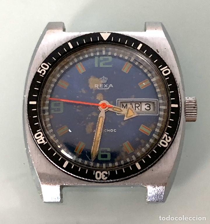 RELOJ DIVER REXA VINTAGE (Relojes - Relojes Vintage )