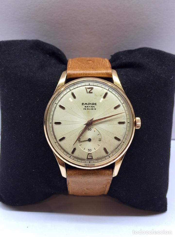 Vintage: Reloj Vintage Caballero Empire Extra - Foto 2 - 180495823