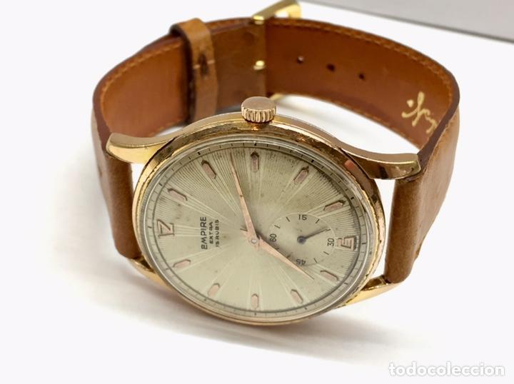 Vintage: Reloj Vintage Caballero Empire Extra - Foto 3 - 180495823