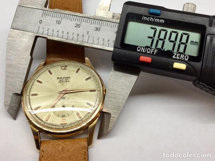 Vintage: Reloj Vintage Caballero Empire Extra - Foto 6 - 180495823