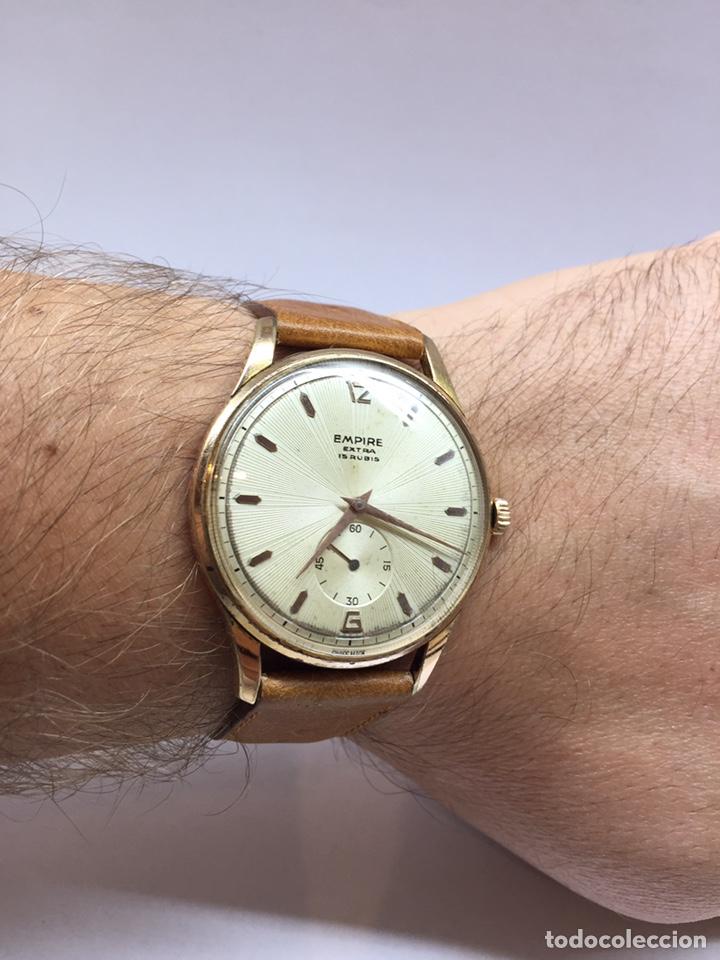 Vintage: Reloj Vintage Caballero Empire Extra - Foto 9 - 180495823