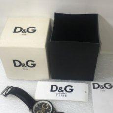 Vintage: D&G DOLCE & GABBANA TIME WATCHES, RELOJ EN SU CAJA TODO ORIGINAL DE RELOJERÍA.. Lote 181200892