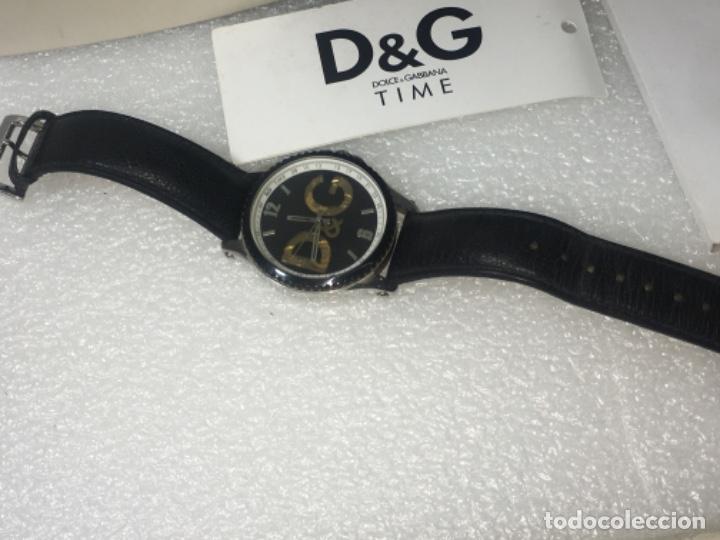 Vintage: D&G Dolce & Gabbana Time Watches, reloj en su caja Todo original de relojería. - Foto 2 - 181200892