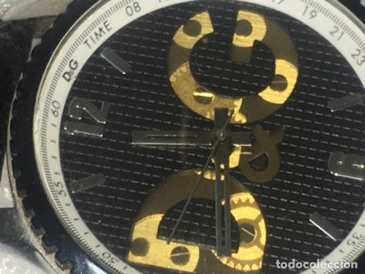Vintage: D&G Dolce & Gabbana Time Watches, reloj en su caja Todo original de relojería. - Foto 4 - 181200892