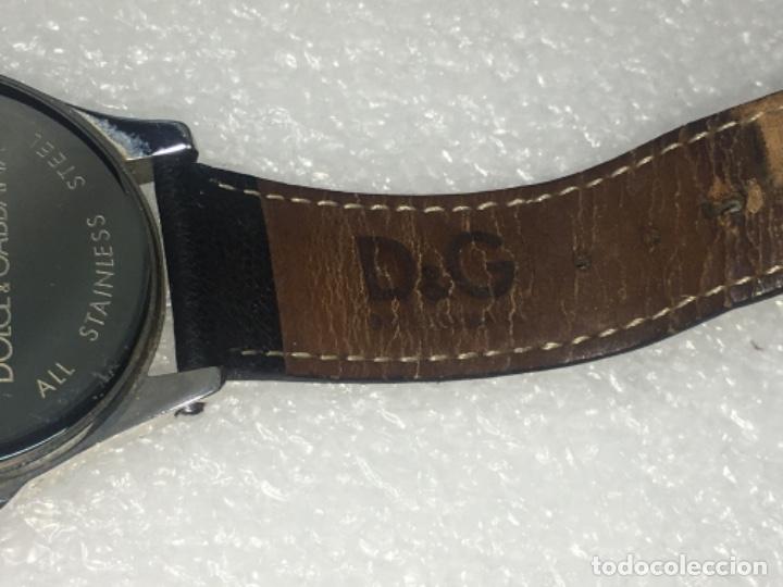 Vintage: D&G Dolce & Gabbana Time Watches, reloj en su caja Todo original de relojería. - Foto 8 - 181200892