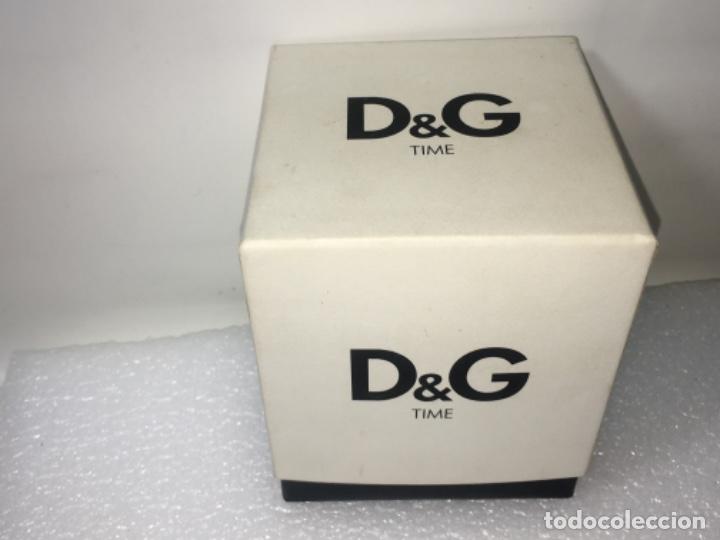 Vintage: D&G Dolce & Gabbana Time Watches, reloj en su caja Todo original de relojería. - Foto 10 - 181200892