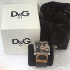 Vintage: D&G DOLCE & GABBANA TIME WATCHES, RELOJ EN SU CAJA TODO ORIGINAL DE RELOJERÍA.. Lote 181201082