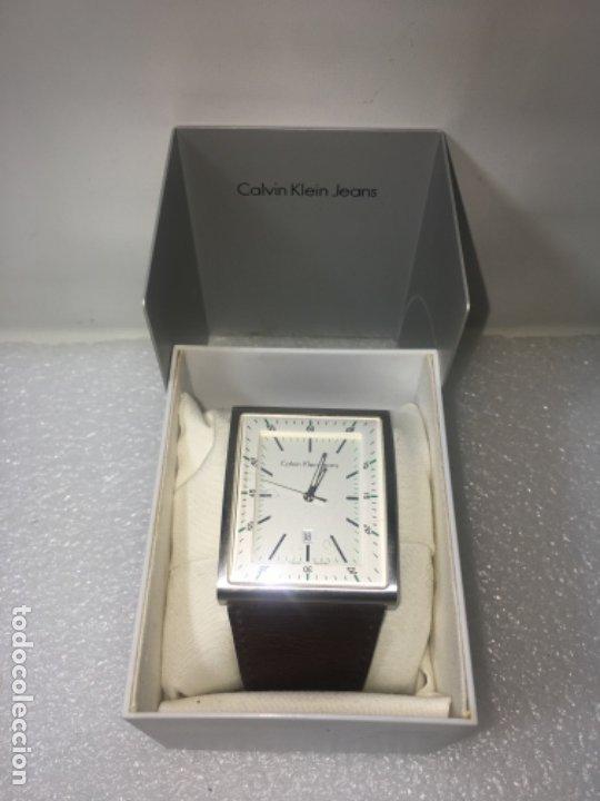 RELOJ ORIGINAL CK CALVIN KLEIN FUNCIONA PERFECTO (Relojes - Relojes Vintage )