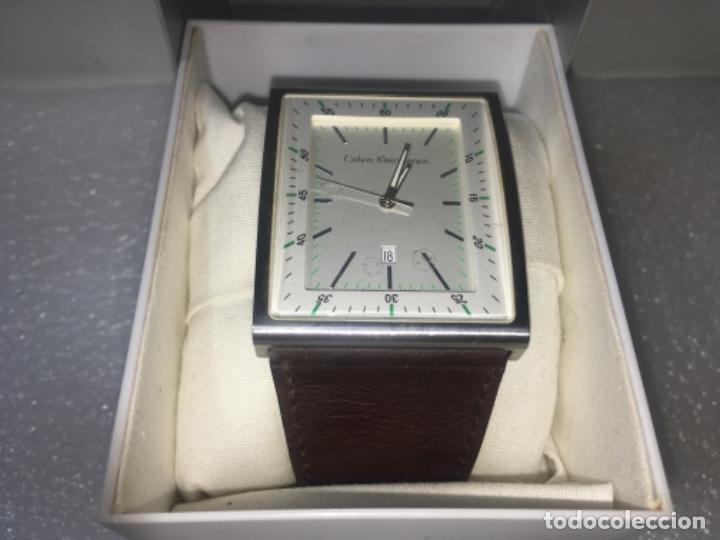 Vintage: Reloj Original Ck Calvin Klein Funciona perfecto - Foto 2 - 181201206