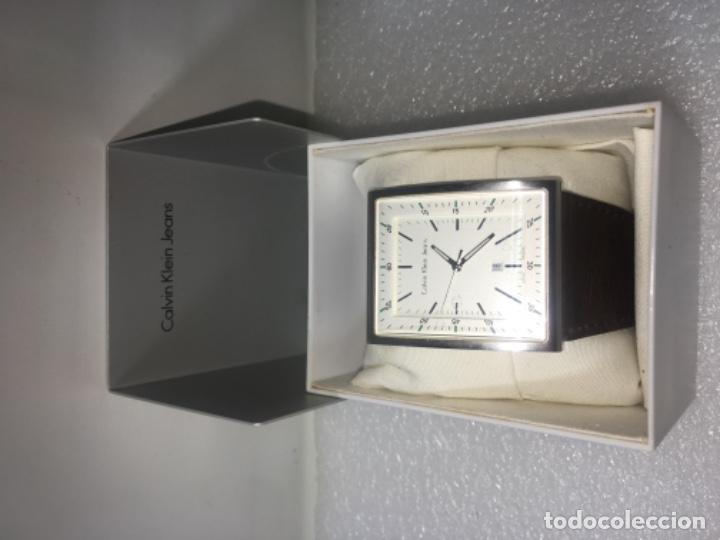 Vintage: Reloj Original Ck Calvin Klein Funciona perfecto - Foto 3 - 181201206