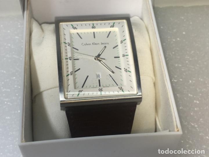Vintage: Reloj Original Ck Calvin Klein Funciona perfecto - Foto 4 - 181201206
