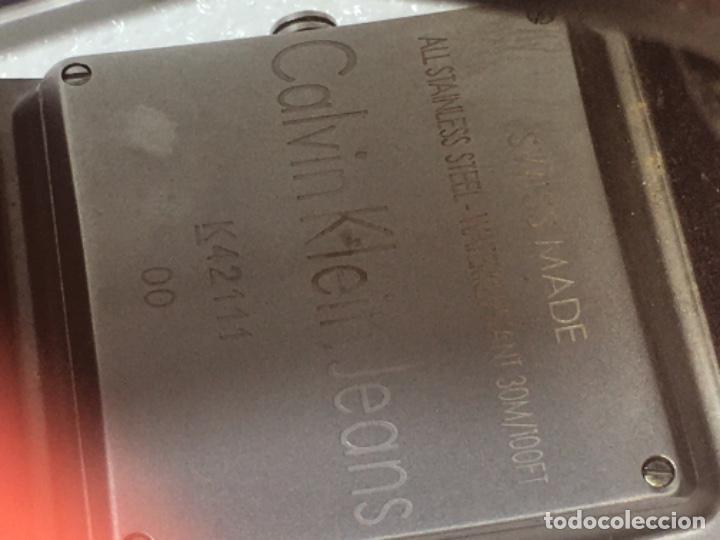 Vintage: Reloj Original Ck Calvin Klein Funciona perfecto - Foto 15 - 181201206