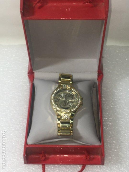 RELOJ ORIGINAL GUESS EN SU CAJA PERFECTO ESTADO Y PERFECTO FUNCIONAMIENTO SERÍA EXCLUSIVA (Relojes - Relojes Vintage )