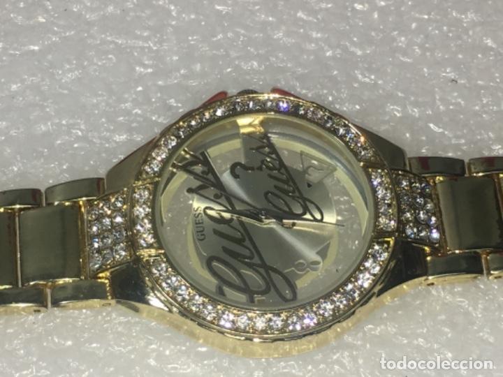Vintage: Reloj Original Guess En su caja perfecto estado y perfecto funcionamiento sería exclusiva - Foto 12 - 181201755