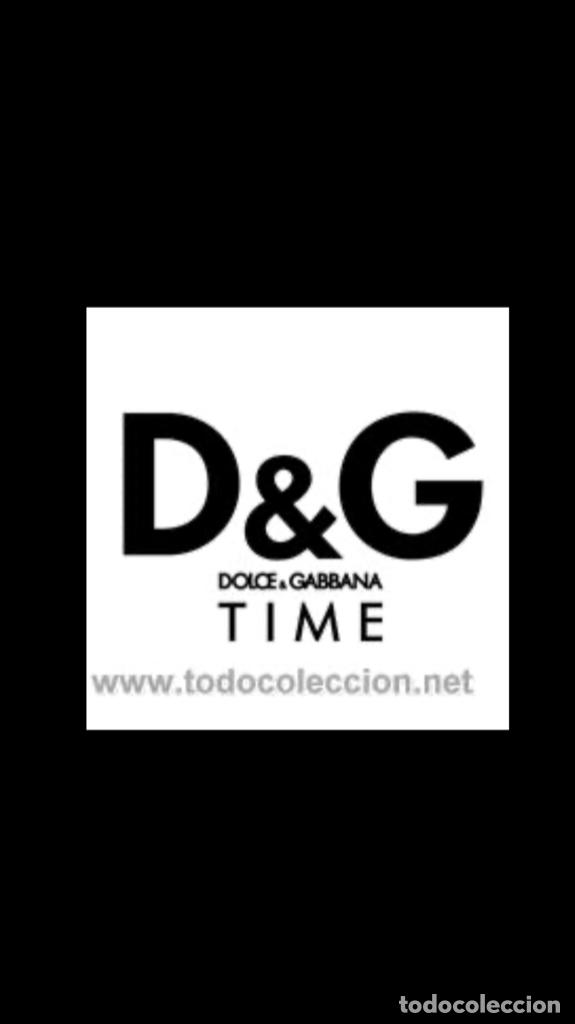 Vintage: D&G Dolce & Gabbana Time Watches, reloj en su caja Todo original de relojería. - Foto 12 - 181200892