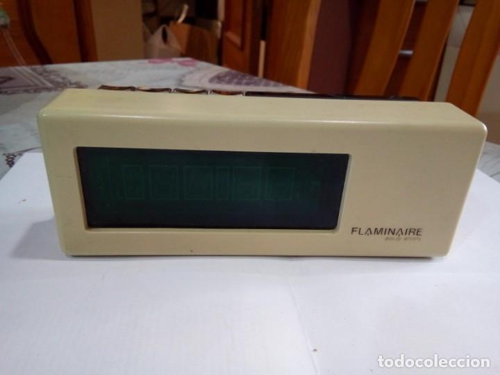 RELOJ DESPERTADOR FLAMINAIRE PRIMER RELOJ HECHO POR LA MARCA AÑOS 6O-70 (Relojes - Relojes Vintage )