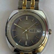 Vintage: RELOJ VINTAGE TIMEX 47952-03376 WATER RESISTANT AUTOMÁTIC CALENDARIO. Lote 181417388