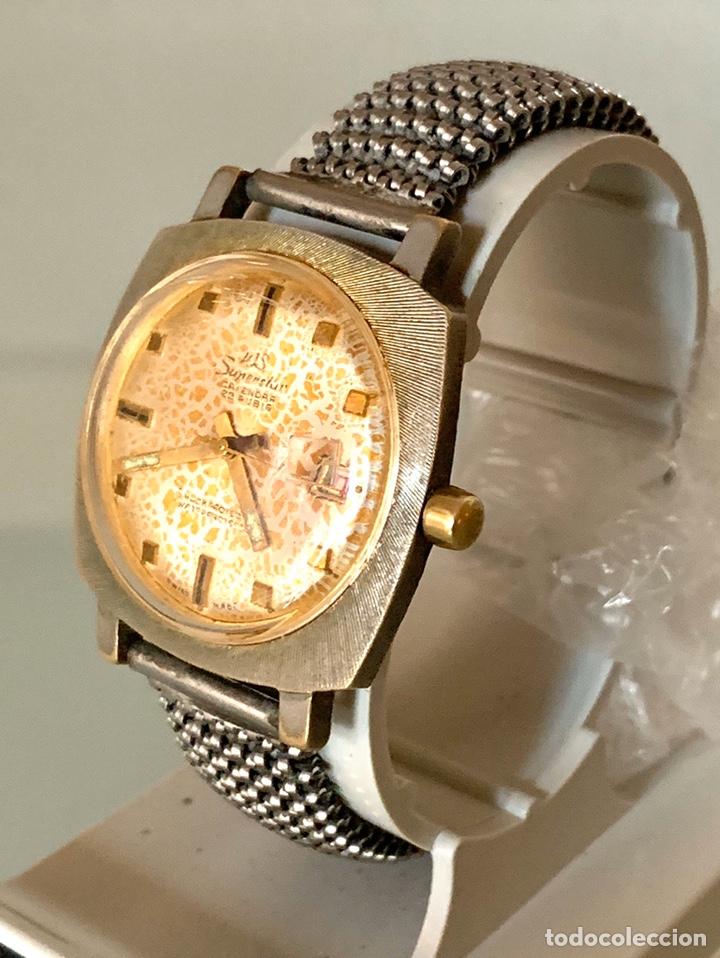 Vintage: Reloj WS Superstars carga manual vintage - Foto 2 - 182095873