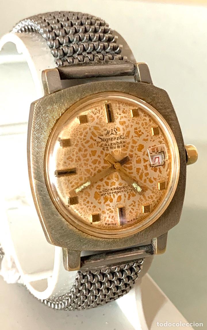 Vintage: Reloj WS Superstars carga manual vintage - Foto 3 - 182095873
