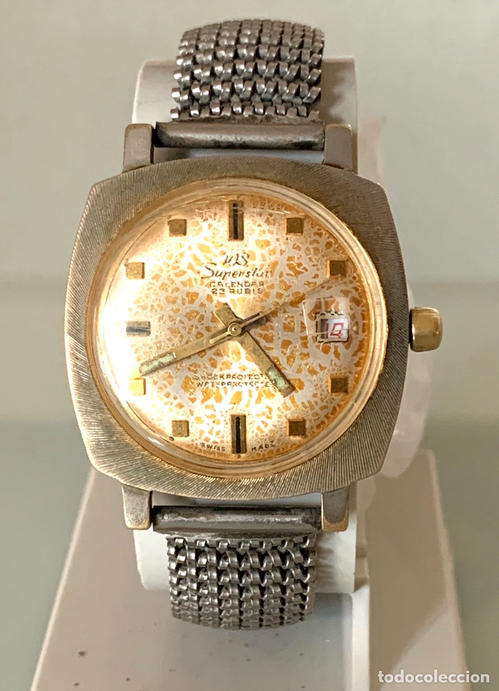 RELOJ WS SUPERSTARS CARGA MANUAL VINTAGE (Relojes - Relojes Vintage )