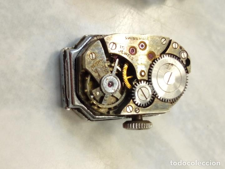 Vintage: antiguo reloj mujer - steelco chromium plated nickel - pulsera vel-fit 1/20 12k usa - Foto 2 - 182154923