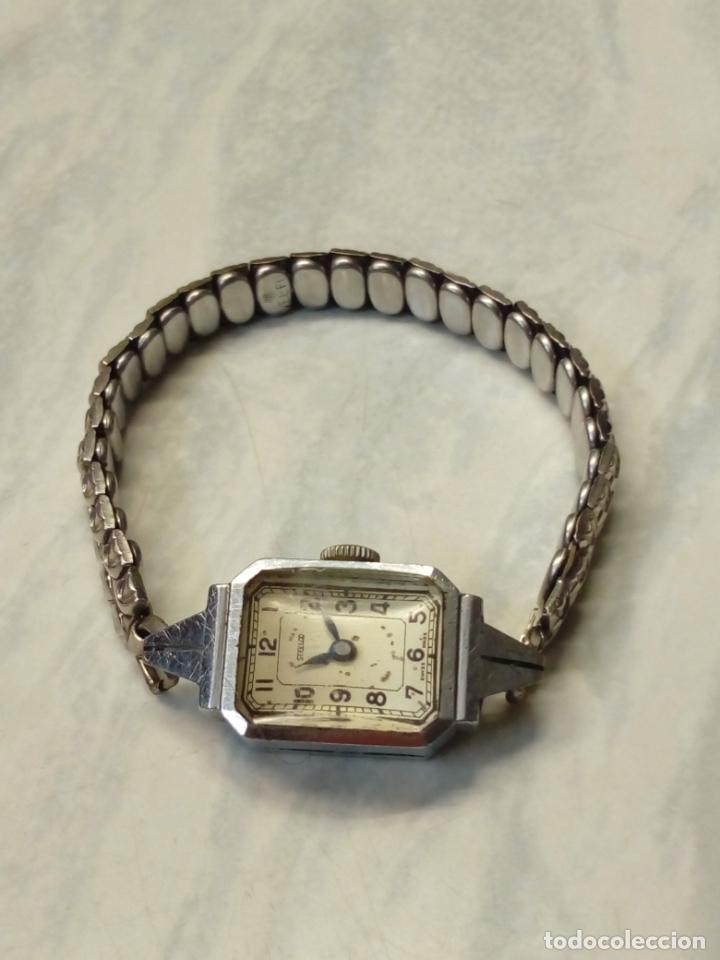 Vintage: antiguo reloj mujer - steelco chromium plated nickel - pulsera vel-fit 1/20 12k usa - Foto 3 - 182154923