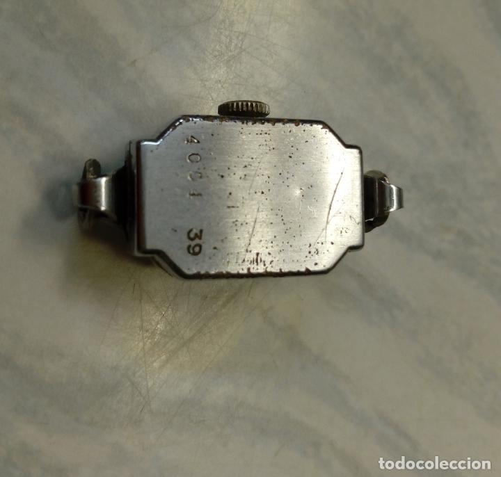 Vintage: antiguo reloj mujer - steelco chromium plated nickel - pulsera vel-fit 1/20 12k usa - Foto 6 - 182154923