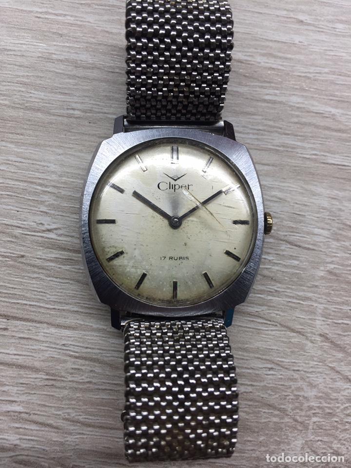 RELOJ CLIPER VINTAGE CABALLERO CARGA MANUAL (Relojes - Relojes Vintage )