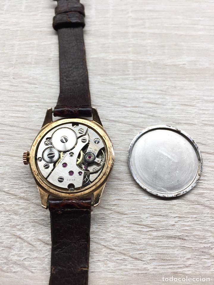 Vintage: Reloj Vintage carga manual Kardex 15 rubis - Foto 6 - 182643783