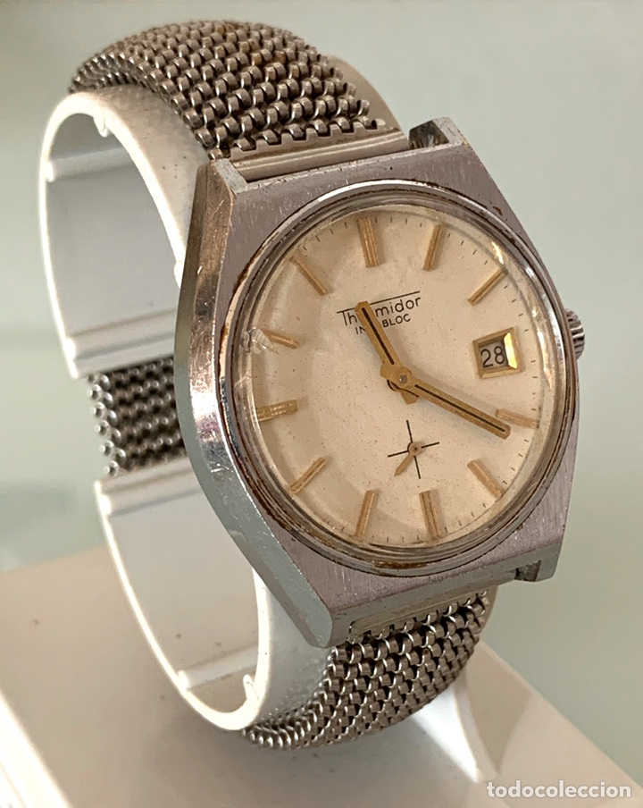 Vintage: Reloj Thermidor carga manual vintage - Foto 3 - 182766455