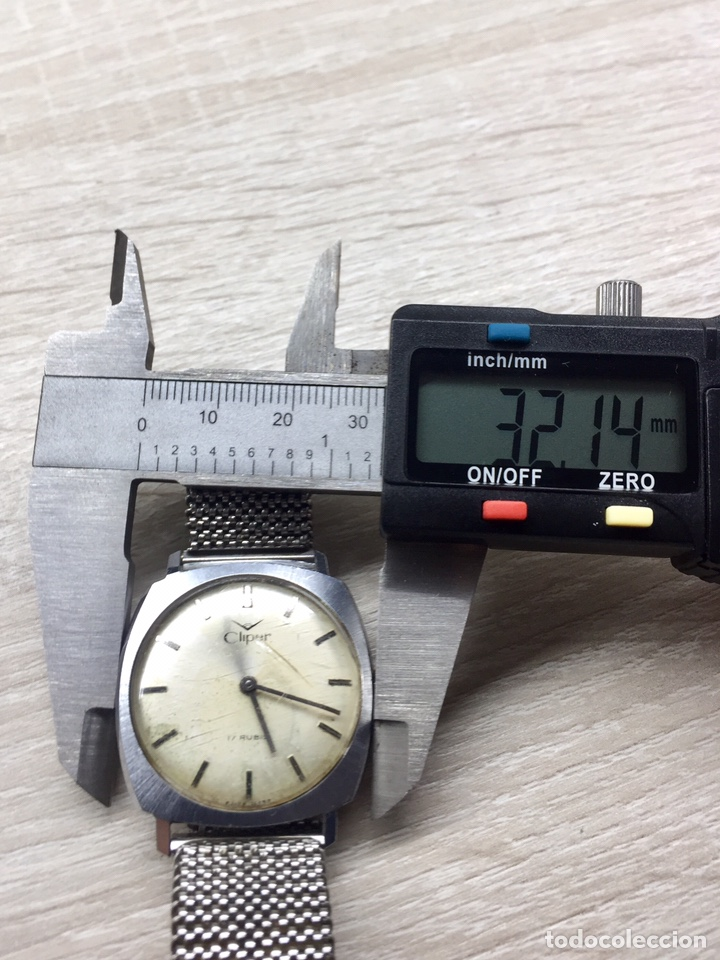Vintage: Reloj Cliper Vintage Caballero Carga Manual - Foto 6 - 182625772