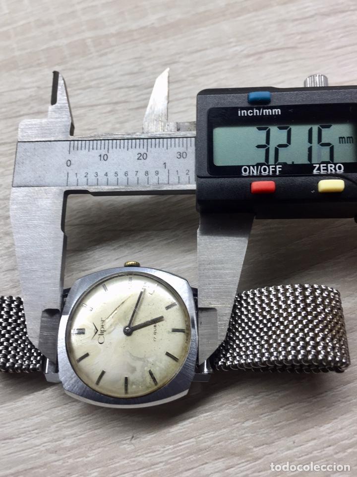 Vintage: Reloj Cliper Vintage Caballero Carga Manual - Foto 7 - 182625772