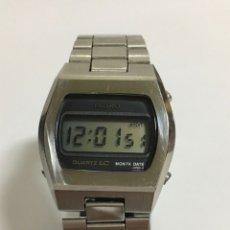 Vintage: SEIKO 0439-4009 LC JAPAN DE ACERO INOXIDABLE. Lote 182884383