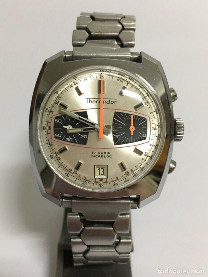 RELOJ THERMIDOR VALJOUX 7734 CRONÓGRAFO DE CUERDA (Relojes - Relojes Vintage )