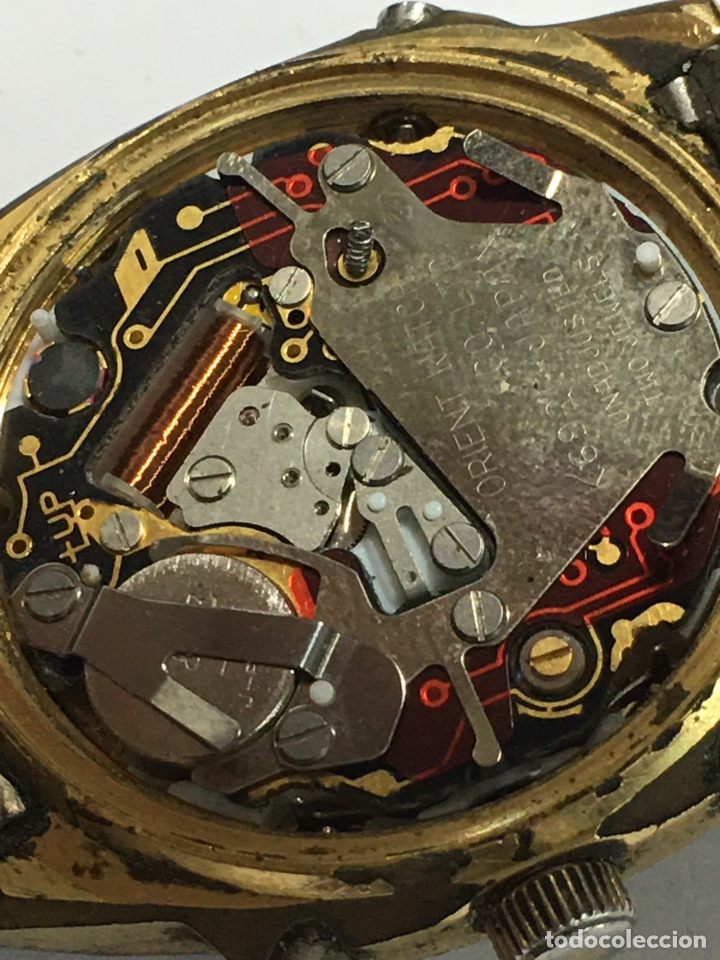 Vintage: Reloj Orient vintage analógico y digital modelo k69401-40 CA - Foto 5 - 182967246