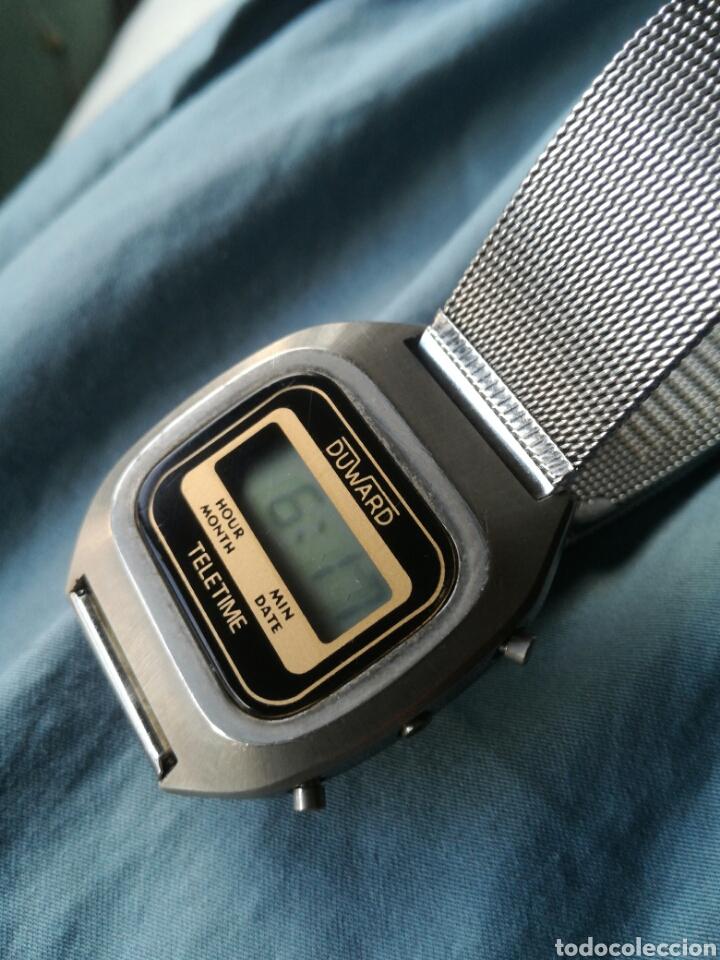 RELOJ LCD CUARZO DUWARD TELETIME VINTAGE (Relojes - Relojes Vintage )