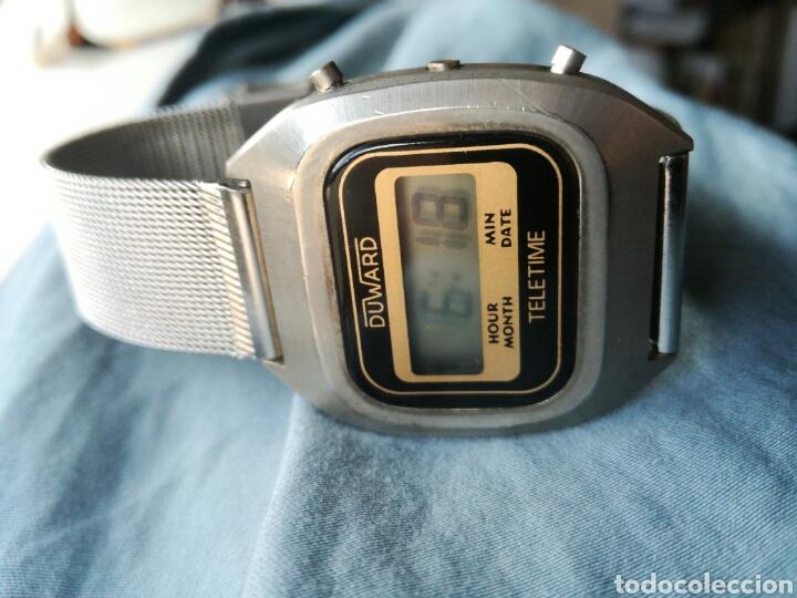 Vintage: Reloj LCD cuarzo Duward Teletime Vintage - Foto 2 - 182990386