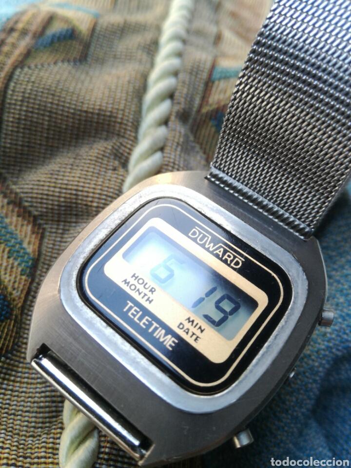 Vintage: Reloj LCD cuarzo Duward Teletime Vintage - Foto 3 - 182990386