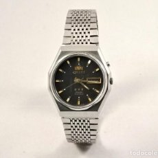Vintage: ORIENT CRYSTAL 21 JEWELS NEGRO 35MM. Lote 183402715