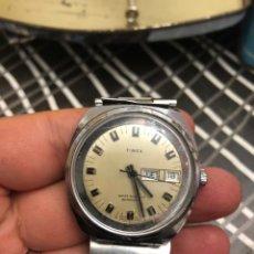Vintage: RELOJ TIMEX AUTOMÁTICO DOBLE DIAL ESPECIAL ESFERA FUNCIONA PERFECTAMENTE- VER LAS FOTOS. Lote 183528988